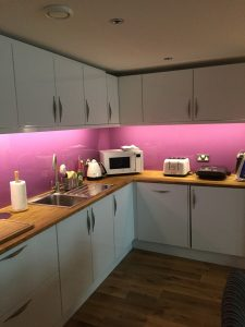 PINK SPLASHBACKS