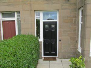 COMPOSITE DOOR WITH FANLIGHT