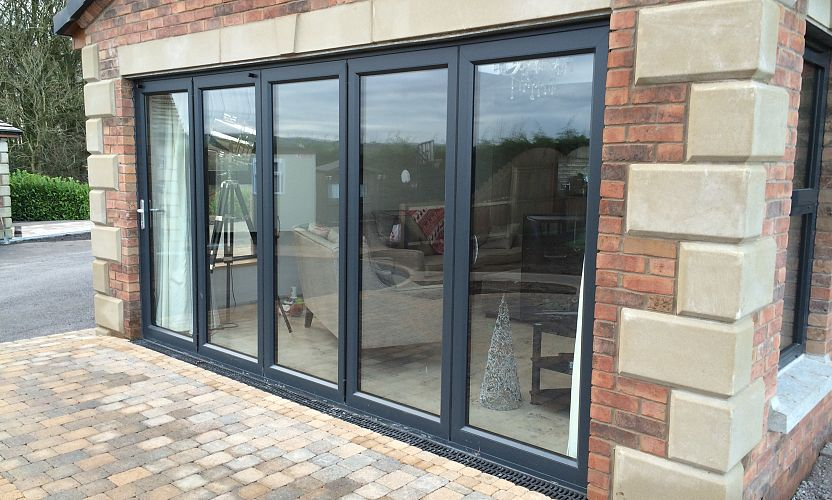 Aluminium Windows And Bi Folding Doors All Glass And Glazing